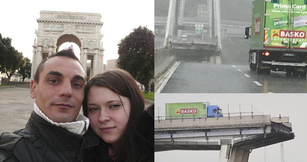 První foto řidiče zeleného náklaďáku z Janova: Koukal jsem smrti do očí!