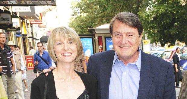Ladislav Štaidl s expartnerkou Míšou Novotnou