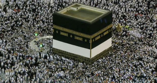 Muslimové zahajují pouť do Mekky: Dlouhé kilometry v úmorném vedru přes 40°C