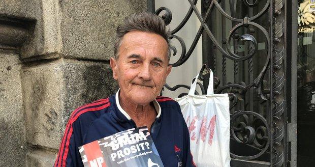 """""""Mám jen na jeden pomeranč."""" Stařeček Petr (71) živoří s důchodem 6380 korun"""
