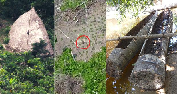 Snímky ze života jednoho z izolovaných kmenů v brazilské Amazonii