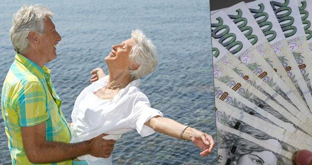 """Čechů s """"extrémními"""" důchody nad 40 tisíc rychle přibývá. Někteří berou i přes 100 tisíc"""