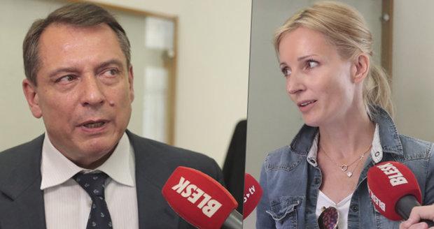 """Paroubek o """"nelegálních milionech"""": Ať Petra ukáže důkazy! Manželka mu připomíná Bartošovou"""