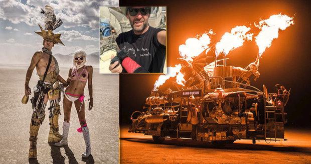 Fenomenální americký festival Burning Man očima českého fotografa Marka Musila.