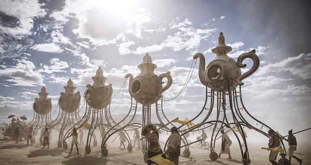Nápaditosti umělců se meze nekladou. Pro většinu z nich je sen vystavit své dílo právě na Burning Man.