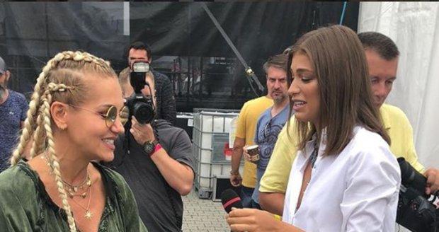 Setkání dvou sokyní Dary Rolins a Jasmíny Alagič.
