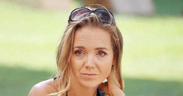 Lucie Vondráčková na charitativní akci.