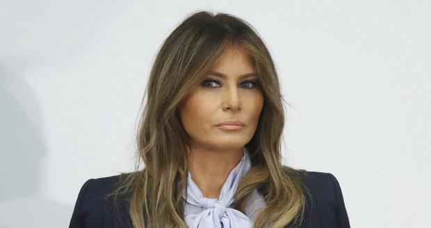 Melania Trump: Ženy potřebují prokazatelné důkazy, když někoho viní ze sexuálního násilí