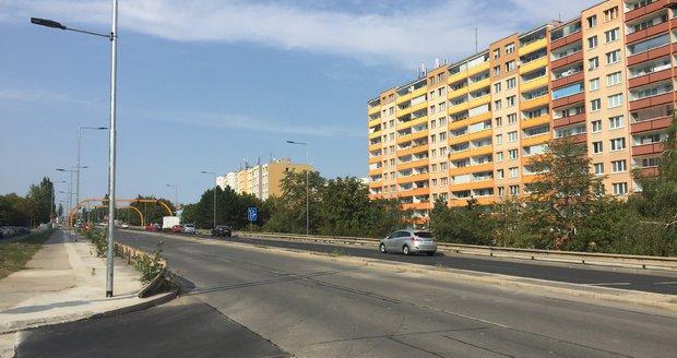 Slánská ulice.
