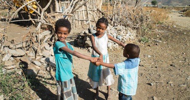 Války v Africe zabily pět milionů dětí. Mrzačí je hlad, podvýživa i nemoci