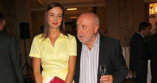 Felix Slováček a Lucie Gelemová