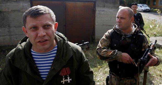 Exploze v restauraci zabila šéfa doněckých separatistů, Moskva viní Kyjev
