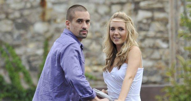 Tomáš Plekanec a Lucie Vondráčková