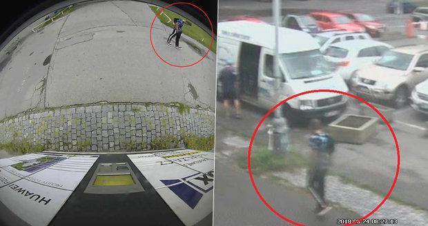 Policie stále pátrá po násilníkovi, který sexuálně obtěžoval dívky na Strahově! Pomohou nové fotografie?