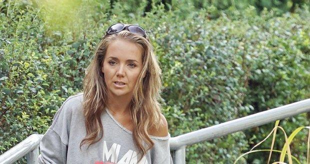Lucie Vondráčková je nyní zpátky v Kanadě, kde řeší problémy s rozvodem.