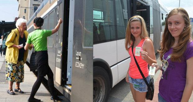 Zvýhodněné jízdné pro seniory a také pro studenty začalo platit loni v září.