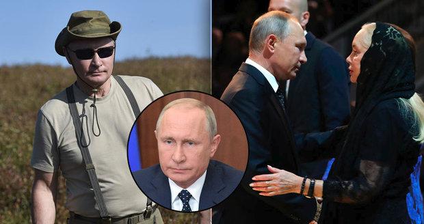 """Putin má svou """"reality show"""". Televize v ní ukázala i nové záběry z jeho dovolené"""