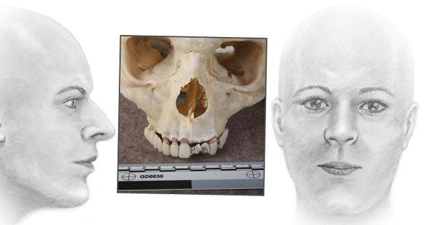 Policie v Německu objevila lebku neznámé ženy: Patrně pocházela z Čech