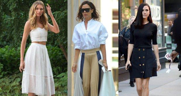 Který typ sukně vám bude slušet?