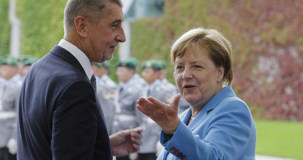 Vznik Československa přijede oslavit i Merkelová. S Babišem vyrazí na oběd