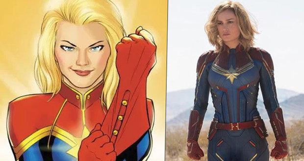 Jak bude vypadat Kapitán Marvel? Na tuhle krásku se můžeme těšit už na jaře!