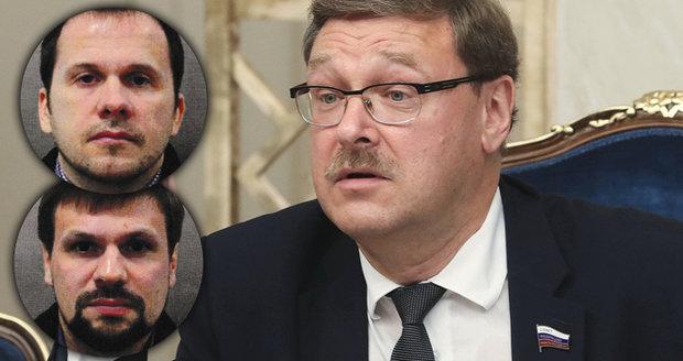 Fotky travičů Skripala jsou falešné, šokoval politik. Jde prý o najaté britské herce