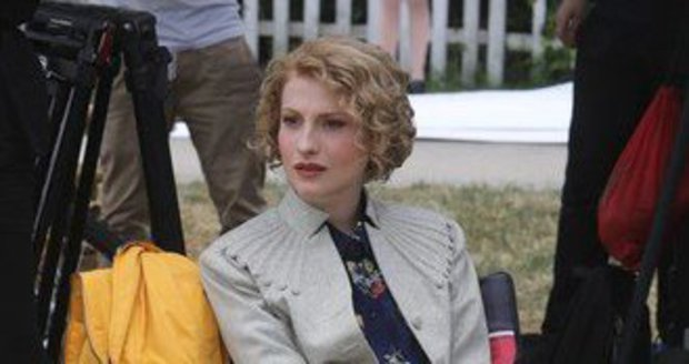 Anna Fialová (23) v seriálu První republika