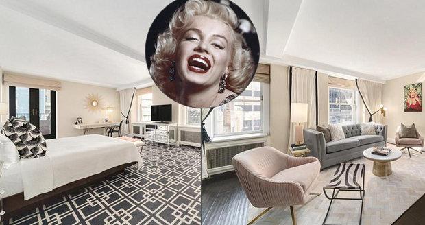 Užívejte si jako Marilyn Monroe: Apartmá sex symbolu je k pronájmu!