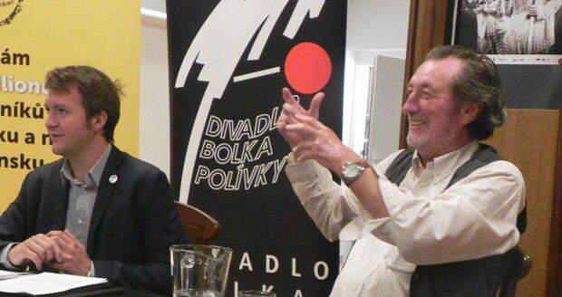 Pro novinku Klíště oslovil principál pro druhou hlavní roli Jiřího Bartošku.