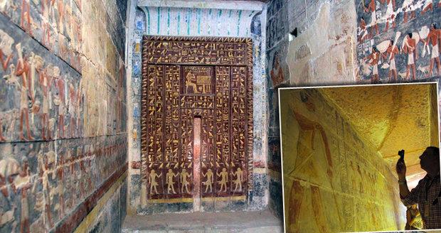 V Egyptě se poprvé zpřístupnila 4000 let stará hrobka. Co v ní najdeme?
