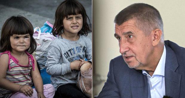 """""""Proč bychom měli přijímat syrské sirotky?"""" nechápe Babiš. Nelidské, tepou ho politici"""