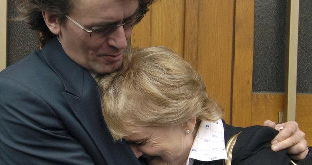 Bohumil Kulínský s maminkou Blankou