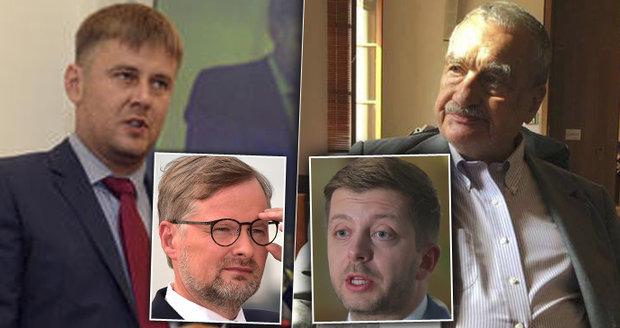 """""""Ostuda a ponížení."""" Schwarzenberg kvůli výběru Petříčka vybuchl, není sám"""
