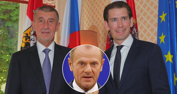 Lídři EU budou u večeře v Salcburku řešit migranty i brexit. Tusk chce zmírnit spory