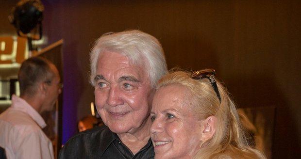 Jiří Krampol a jeho žena Hana Krampolová