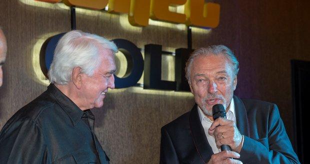 Karel Gott a Jiří Krampol