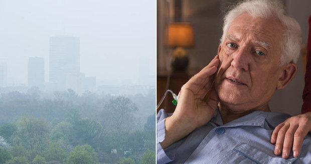 Způsobuje demenci znečistění vzduchu? Britští vědci představili unikátní studii