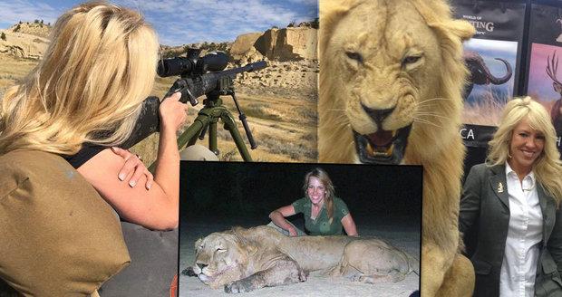 Vášnivá Olivia (41) obhajuje střílení exotických zvířat: Je to legální hobby. Lovci pomáhají přírodě!