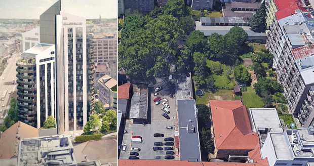 Mrakodrap ve vnitrobloku? Lidé v Brně se bouří, 23. patrový dům jim zastíní výhled