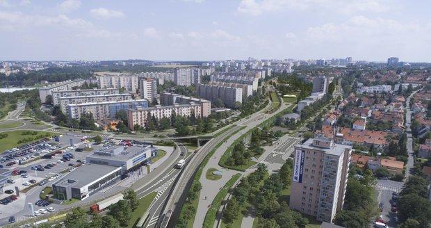 """""""Vlasta"""" mezi D1 a D8 uleví dopravě v Praze: Stavba vnitřního okruhu může podle Ťoka začít za rok a půl"""