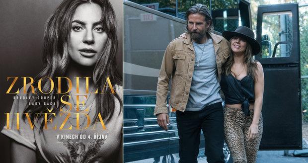 Kontroverzní zpěvačka Lady Gaga smyla make-up a natřela to kritikům ve své první filmové roli