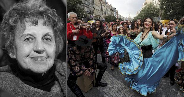 """Zkoumala životy Romů: """"Dali mi člověčí lásku."""" Zemřela etnografka Davidová (†85)"""
