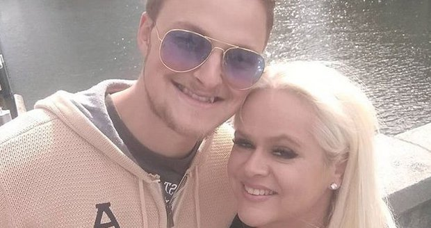 Monika Štiková s mladším přítelem