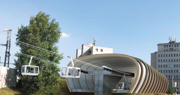 Schváleno! V Praze vyroste nová lanovka. Spojí Podbabu a Bohnice