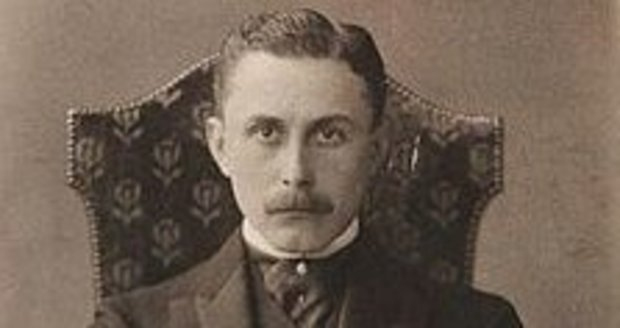 Architekt a brněnský rodák Adolf Loos (1870-1933).
