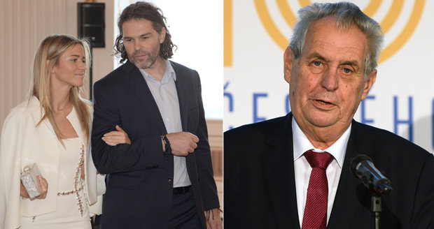 Zemanovy 74. narozeniny: Jágr na Hradě, Babiš a Klaus mu přáli po telefonu