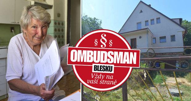 Božena Vlasáková (68) přišla kvůli exekucím dcery o část domu. Šestinový majitel teď diktuje podmínky!