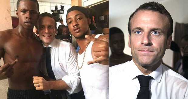Macron pod palbou kritiky. Opozice cupuje prezidenta za zdvižený prostředníček