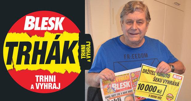 Jiří Řehulka (70) už nemá štěstí jen v lásce. Přesvědčil ho o tom Trhák: První výhra v životě!