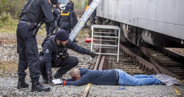 Chodce přejel v Mikulově vlak: Na místě zemřel